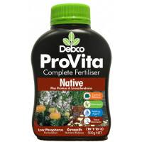 Debco Provita Native tree and shrub fertiliser, 500gm